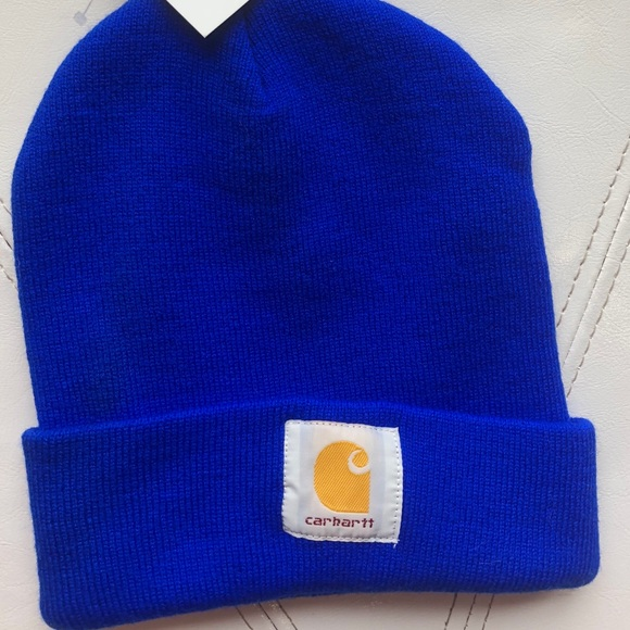 Carhartt beanie in Royal blue 412280bf2a5